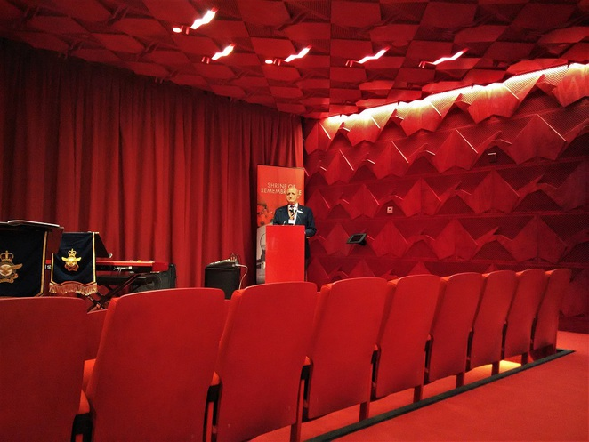 shrine of remembrance lecture hall