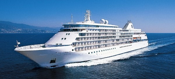 Silversea Cruises Silver Shadow. Photo courtesy of Cruise Ships in Adelaide