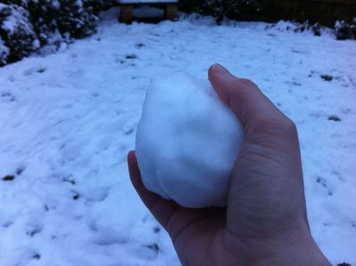 snowball, son, snowball fight, fun, kids, children