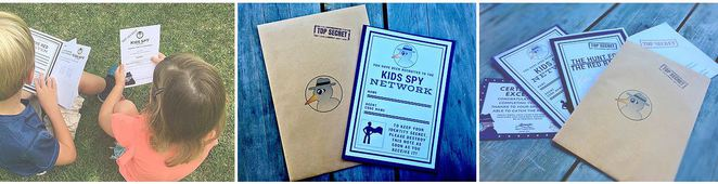 spy,kids,network,adventure,activity,school,holidays,party,parties,favours,activities