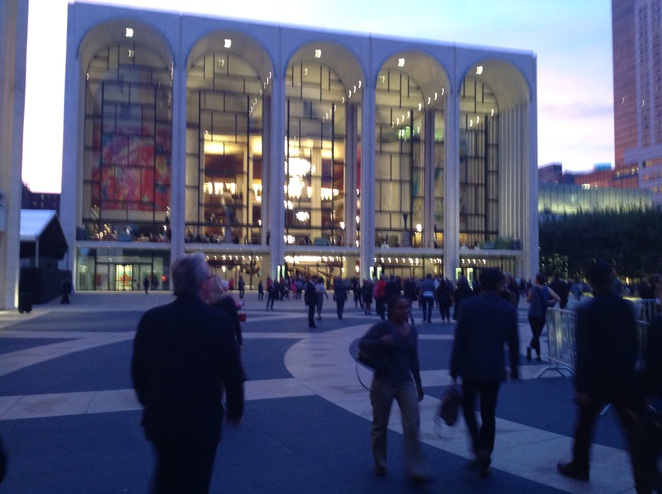 The Lincoln Center New York performing arts ballet opera classical music