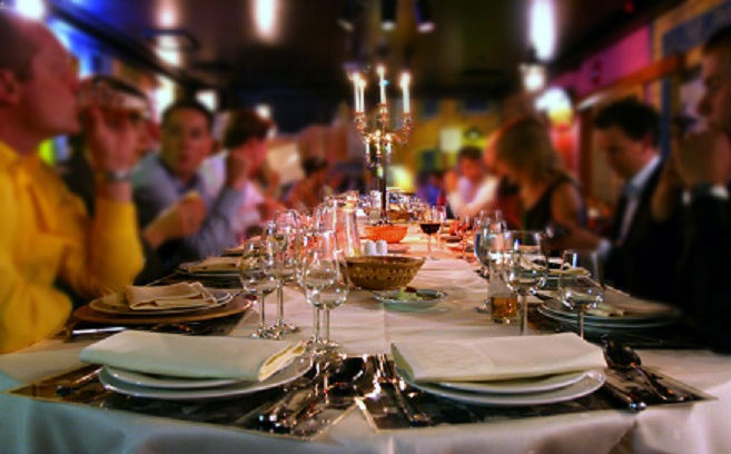 the longest table dinner party