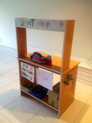 upcycled play shop