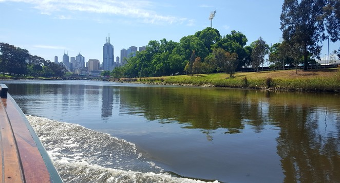 Views, Melbourne, river, cruise, family
