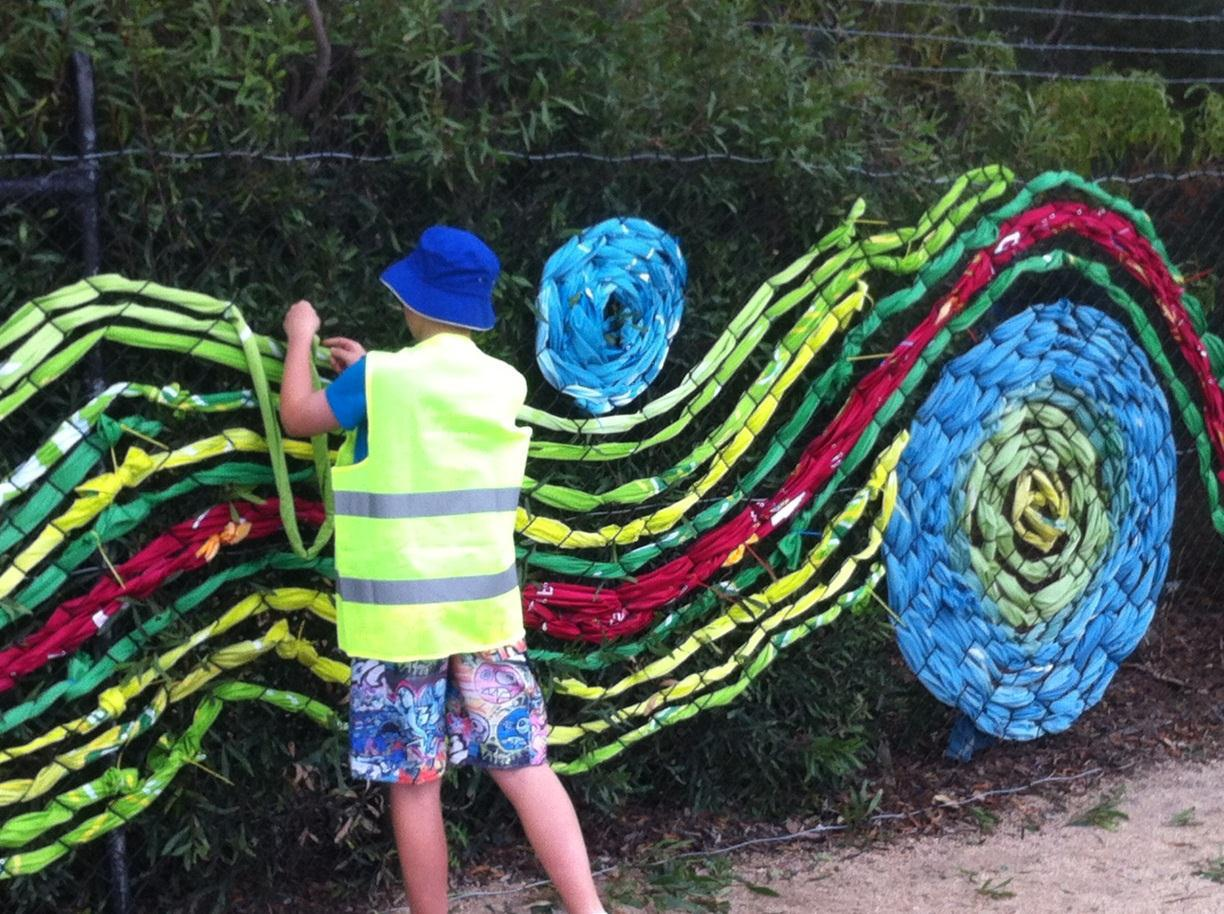 One world workshops and exhibition melbourne for Kids outdoor fabric