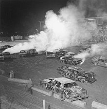 The exciting Demolition Derby