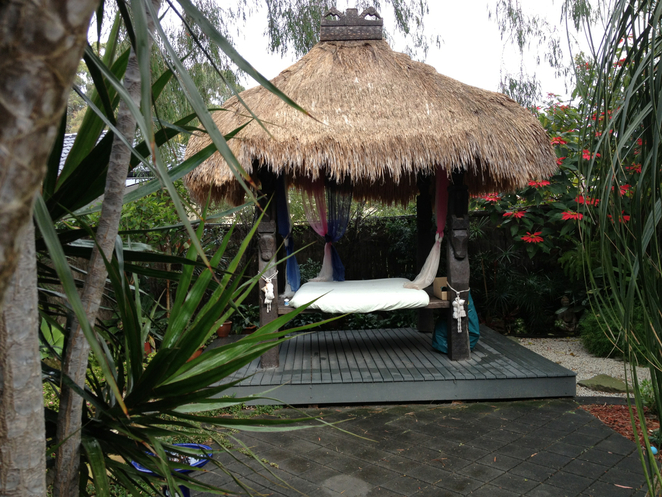 Balinese, private garden, relaxation