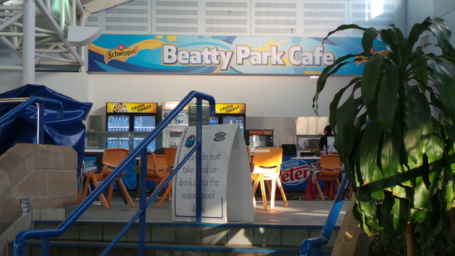 Beatty Park cafe