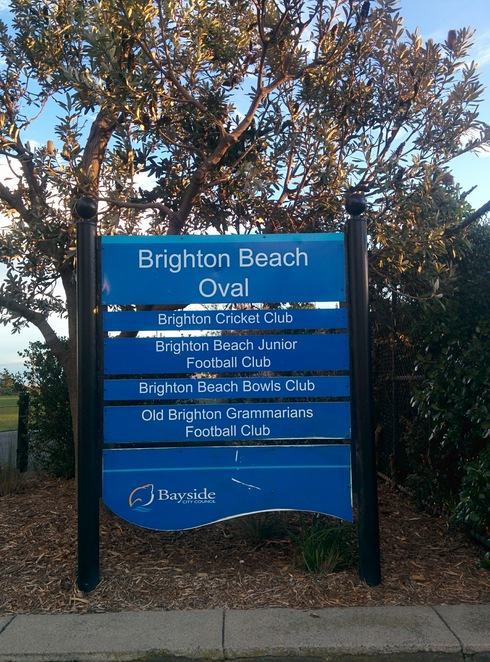 Brighton Beach Oval, Brighton Beach Football Oval, Brighton Beach Park, Brighton Park, Brighton Oval