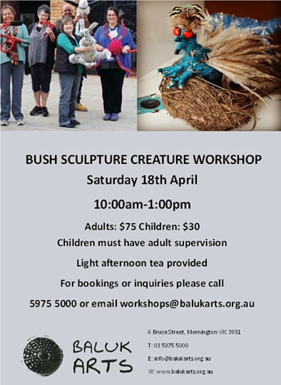 Bush Sculpture Workshop
