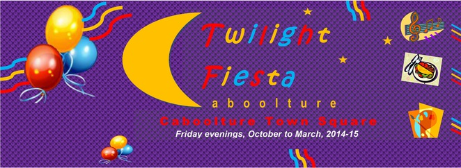 Caboolture Twilight Fiesta poster