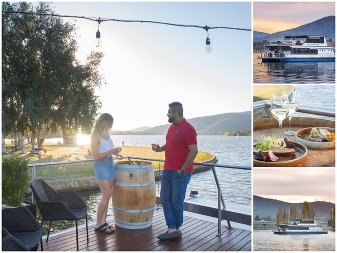 canberra southern cross cruises, valentines day, 14th february, 2019, dinner, views, lake burley griffin, ACT, canberra,