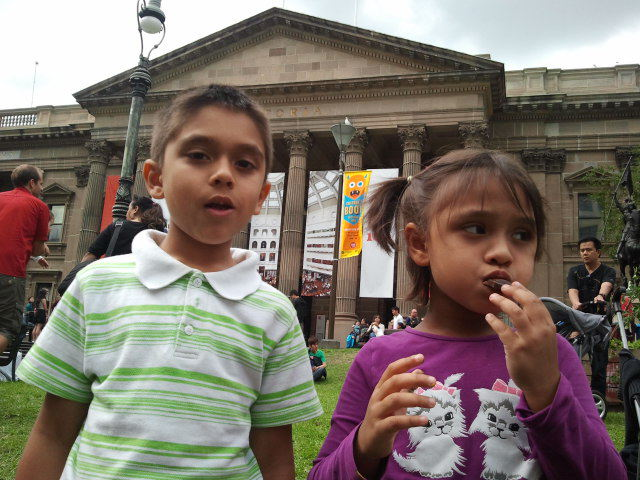 children book festival free State Library of Victoria Melbourne authors