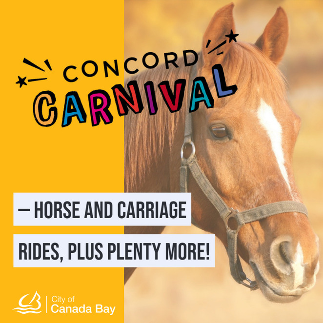 concord carnival 2019, halcyon days, greenlees park, family fun day, community event, fun things to do, kids activities, heritage event, roaring twenties, food market, information stall, horse and carriage rides, vintage vehicle displays, free amusements, city of canada bay, free event