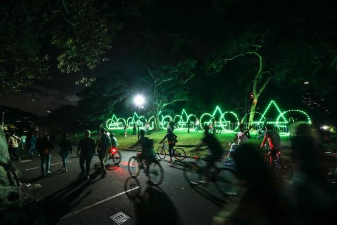 Cycling, Bike riding, festival, food, family friendly, food truck, lights