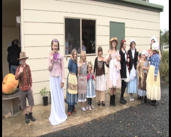 Dress up in your olden day clothes to join in the fun