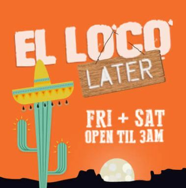 El Loco Later, mexican, sydney, surry hills, up late, food