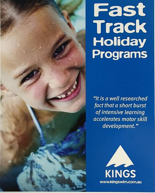 fast track, swimming lessons, canberra, ACT, school holidays, summer holidays, swimming, kids,
