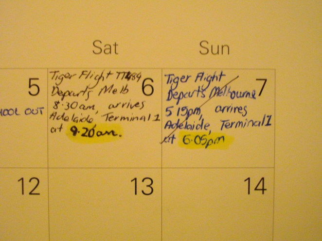 Flights cancelled, tiger airways, calender, airfares, booking airfares