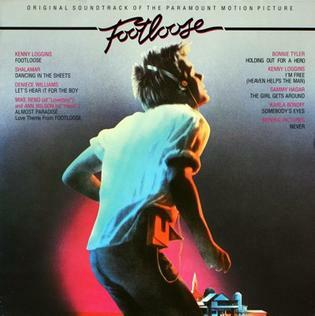 footloose, soundtrack, cover, kevin bacon