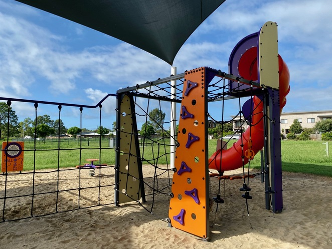 More challenging play equipment