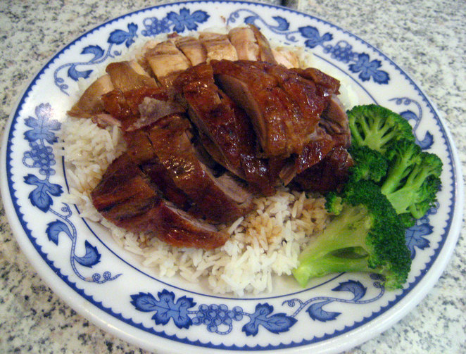 Roast Duck and Soy Chicken
