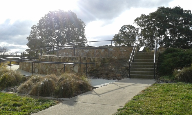Government House Lookout, wheelchair friendly, pram friendly, Canberra, Lookouts