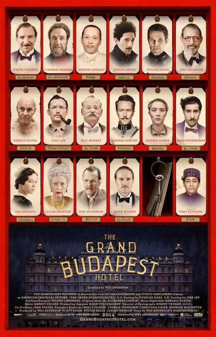 grand budapest hotel poster image