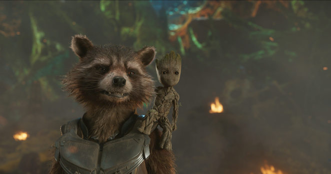 Guardians of the Galaxy Vol. 2 - Rocket and Baby Groot