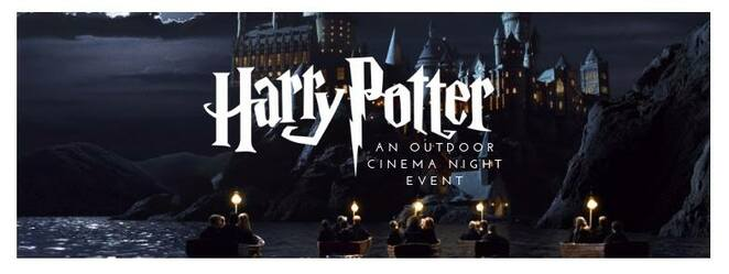 harry potter outdoor cinema night