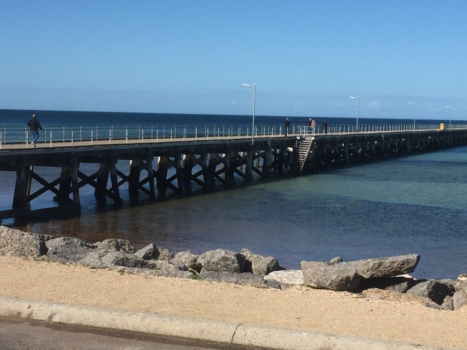 jetty, seaside, fishing, ardrossan