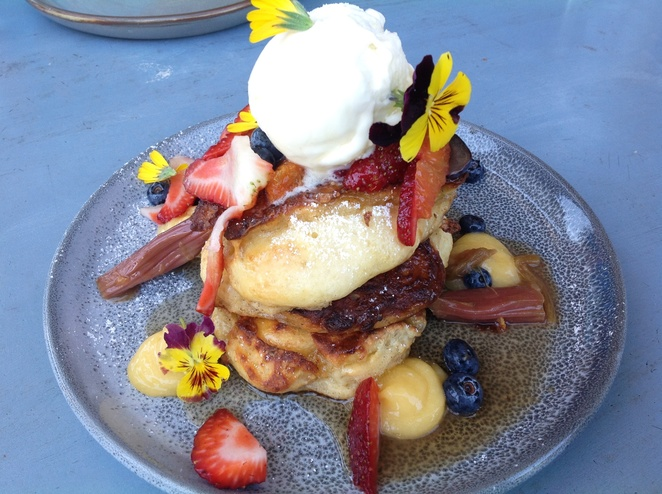 Love Summer Pancakes, Dear Delicious cafe