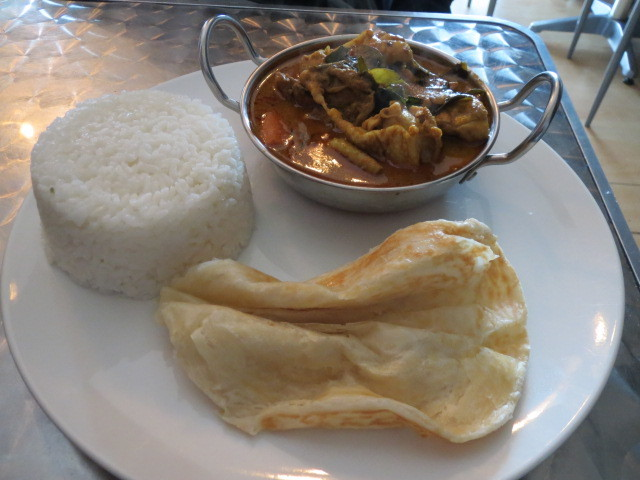 Manna Coffee Shop, Curry Chicken Rice, Adelaide