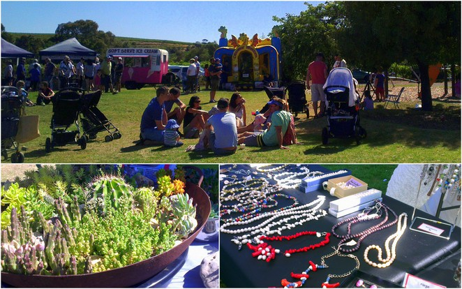 markets, craft, bouncy castle, kids, free, McLaren Vale, local produce