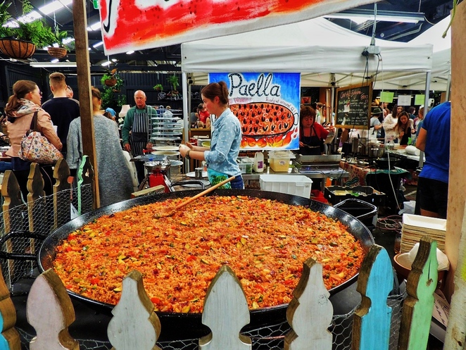 markets in adelaide, market shed, market shed on holland, twilight market, market stalls, organic food, in adelaide, fun things to do, spanish paella