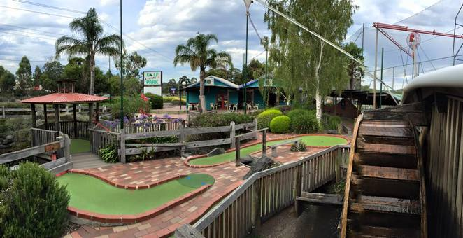 MAroondah Golf Park, mini golf, crazy golf, adventure golf, golf course, putt putt, golf. mini golf in Melbourne