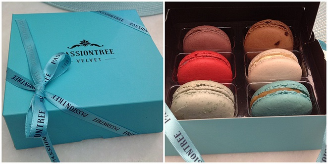 Mother's Day macarons gift box