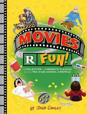 Movies R Fun, parody children's book, parody little golden book, movies, books about movies, humour, funny books