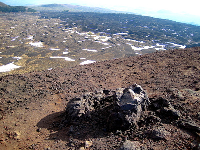 Mt Etna lava fields (c) JP Mundy 2012
