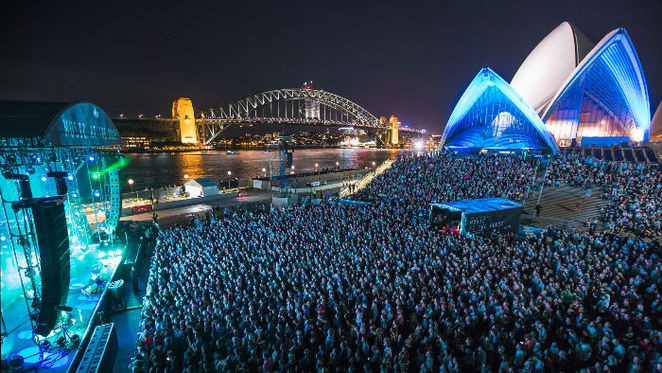 Music at the House at Sydney Opera House with Florence and the Machine