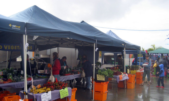 Organic Fruit and Vegetable Stall