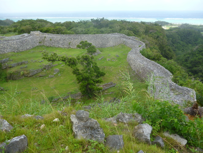 Nakijin Castle, Okinawa, Japan