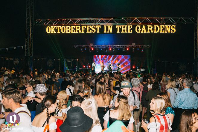 Oktoberfest dates in Melbourne