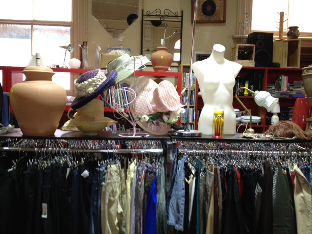 op shop, sacred heart, mission, charity
