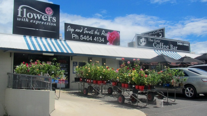 Phippsy's Marburg, gifts, nursery, coffee, cafe, The Girls' Coffee Bar, Stop and Smell the Roses, Halfway, Brisbane, Toowoomba, food, drink, takeaway
