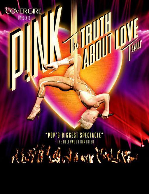 pink, truth about love, 2013, tour, concert