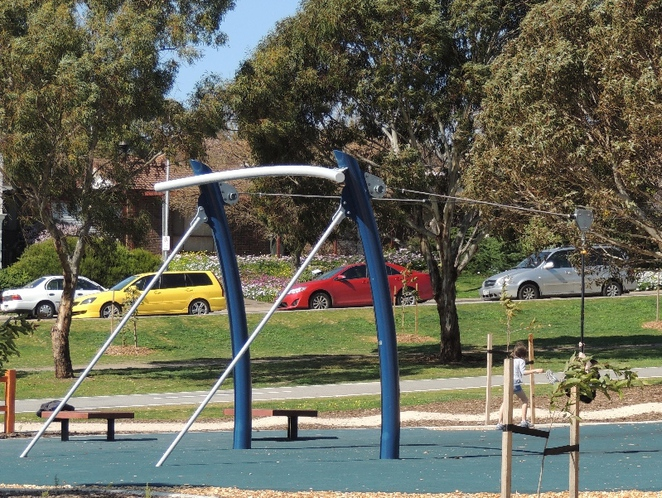playground, play areas, dog friendly, children, trees, shelters, reserve, wetlands, trails, flying fox