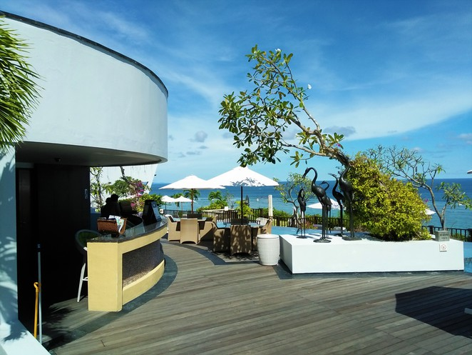 pool bar at Samabe Bali Suites & Villas