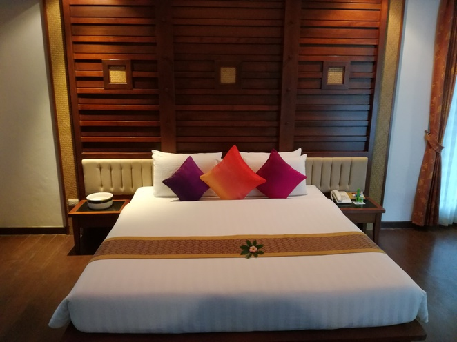 railay village resort krabi thailand chalet bedroom