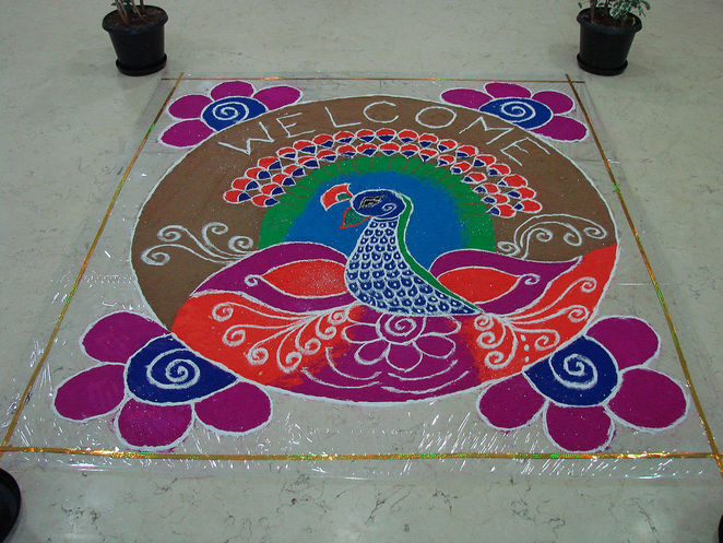Rangoli, Deepavali Singapore 2016, Little Indian Singapore, Festival Village Deepavali